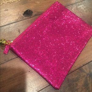 Handbags - Hot Pink Glitter Bag 💕